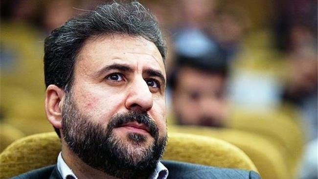 A file photo of Heshmatollah Falahatpisheh, the representative of Eslamabad-e Gharb County at the Iranian parliament