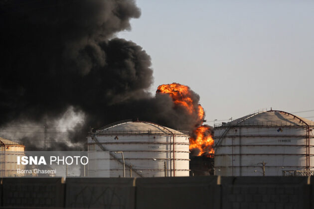 Iran Petrochemical Complex Fire