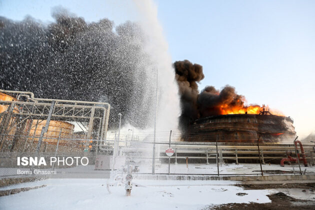 Iran Petrochemical Complex Fire