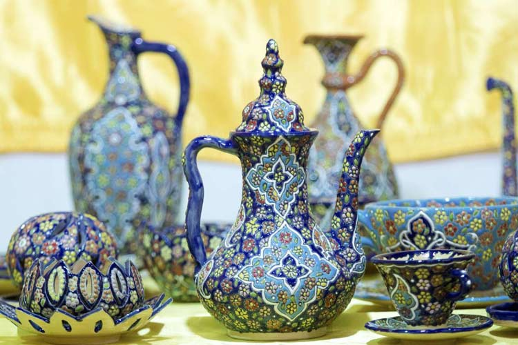 Two Iranian Cities Gain World Fame for Gems and Pottery   Iran Front Page