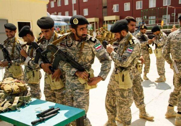 Iranian Commandos in Russia