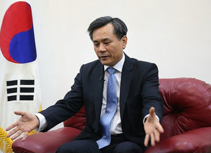 Kim Seung-ho-South Korea's Ambassador