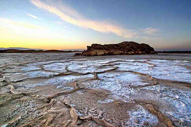 Lut Desert: Salt Crust