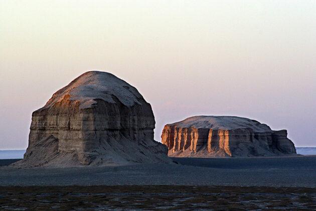 Lut Desert: Yardang (Kalut)