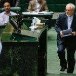 Mohammad Javad Zarif in Parliament
