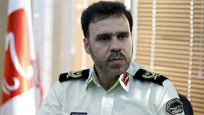 Iranian Police Spokesman, Saeed Montazer-al-Mahdi