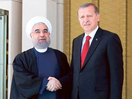 Iran and Turkey Presidents, Rouhani-Erdogan