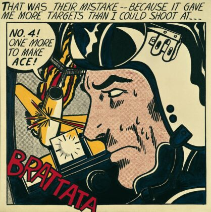 Brattata by Roy Lichtenstein