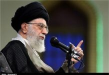 Leader of the Islamic Revolution Ayatollah Seyed Ali Khamenei