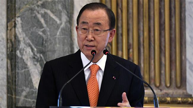 UN Secretary General Ban Ki-moon (AFP)