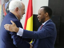 Zarif Meets Top Guinean Officials