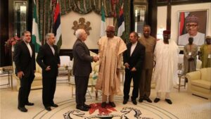 Zarif in Nigeria