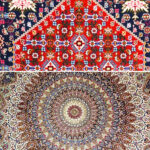 hand-woven carpets