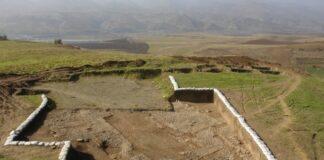 Mannaean Glazed Bricks Discovered in Iran's Sardasht