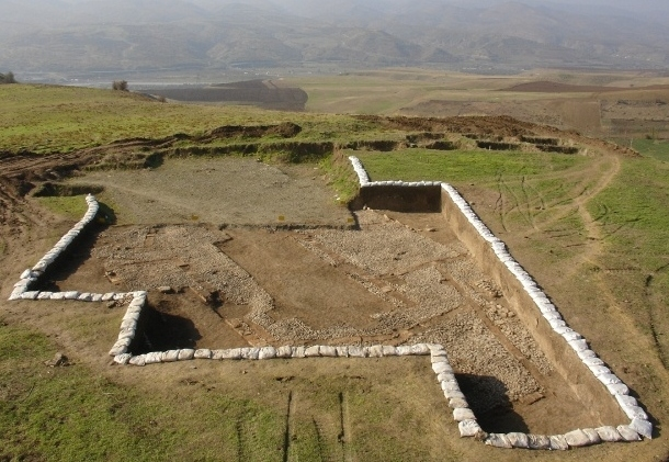 Mannaean Glazed Bricks Discovered in Iran's Sardasht