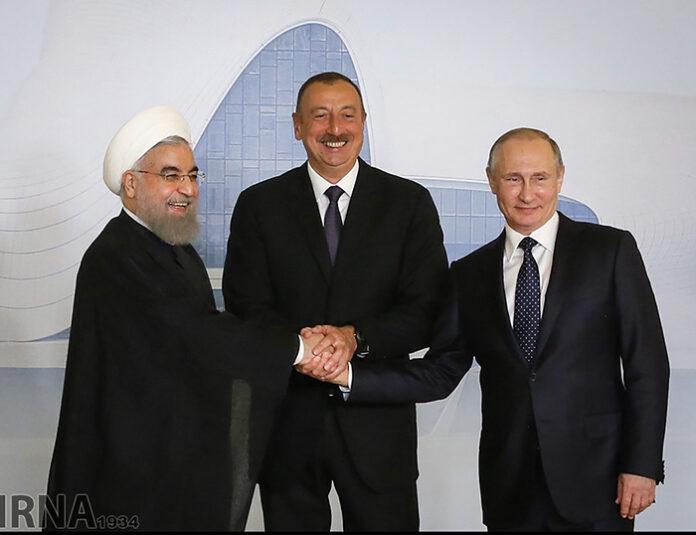 Iran-Russia- Azerbaijan