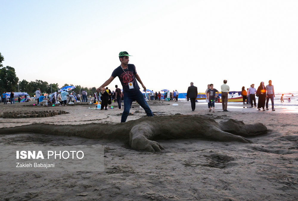 Sand Sculpture Festival Treasure Island
