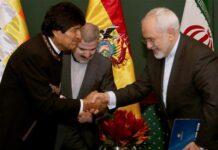 Zarif and Bolivin President