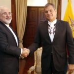 Zarif and Ecuador's President