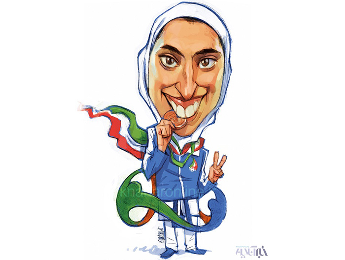 The only woman to win an Olympic medal for Iran just defected