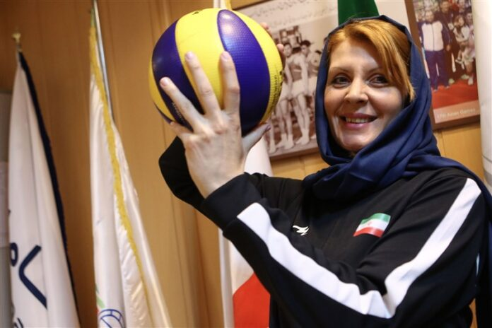 Iran's Volleyball Coach