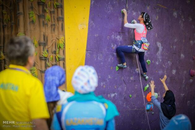 Asian rock climbing