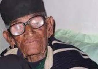 110 year old man