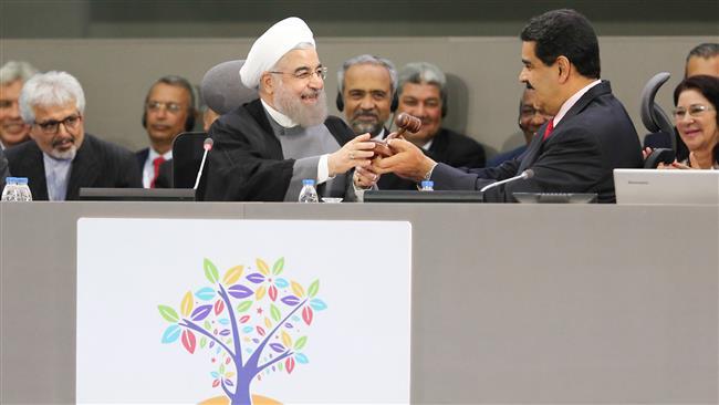 Rouhani - Venezuela