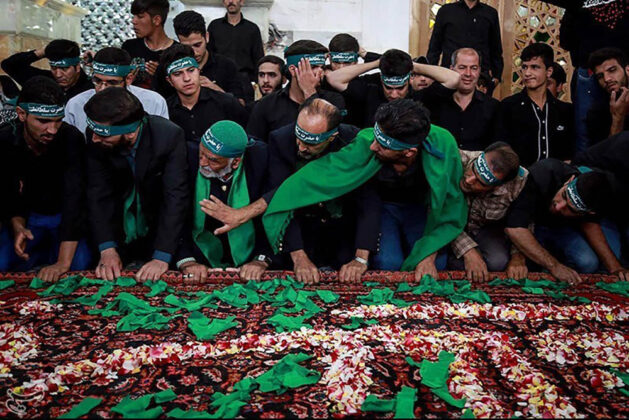 Religious Ceremony of Carpet Washing Held in Central Iran