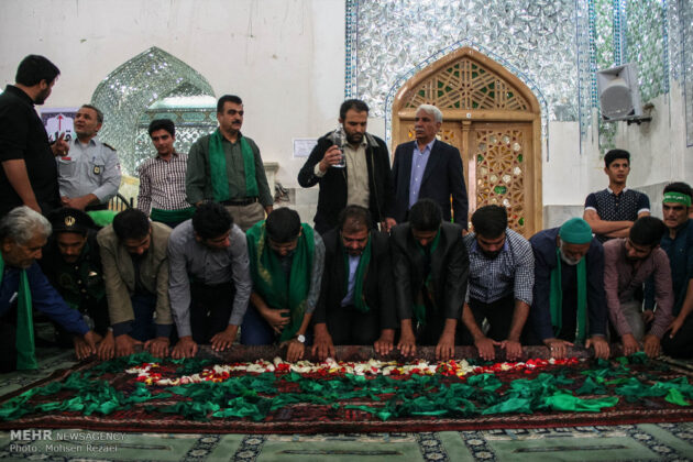 Religious Ceremony in Mashhad-e Ardehal, Central Iran