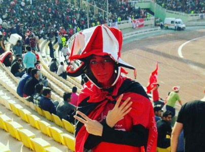 Girl in Stadium