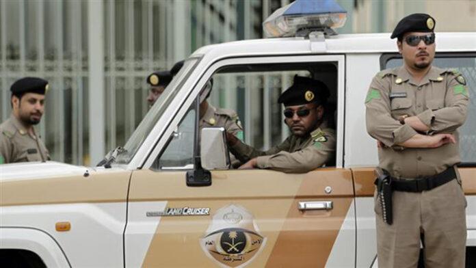 Saudi police officers
