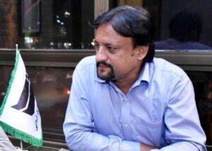Pakistani Journalist Alireza Alavi