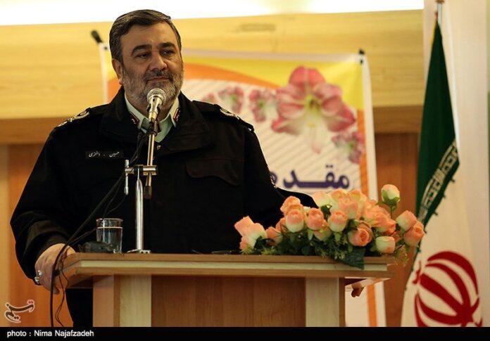 Iran's Police Chief Brigadier General Hossein Ashtari