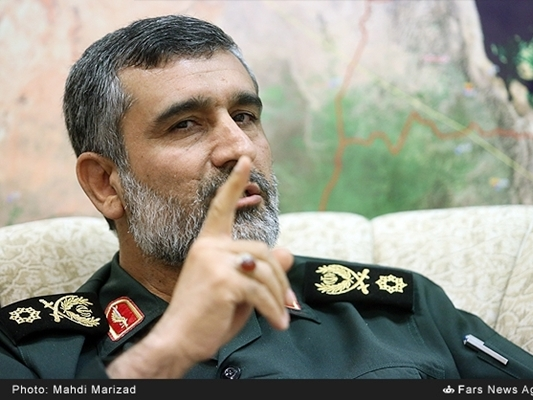 Iranian General Amir-Ali Hajizadeh