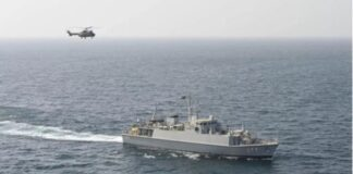 Saudi Arabia Drill in Persian Gulf