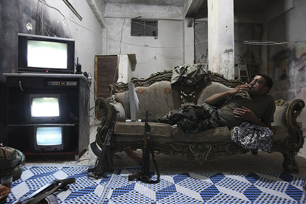 TV in Aleppo