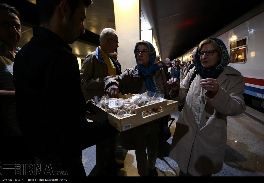 Foreign Tourists- Isfahan