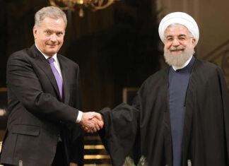 President Rouhani-President Sauli Niinistö