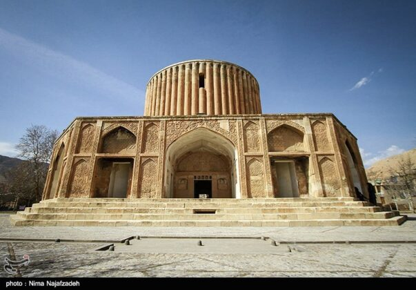Sun Palace; Monument from 18th Century in Northeastern Iran