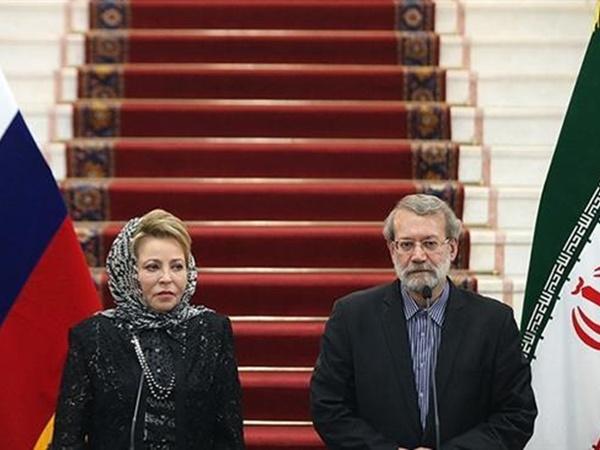 Ali Larijani-Valentina Ivanovna Matvienko