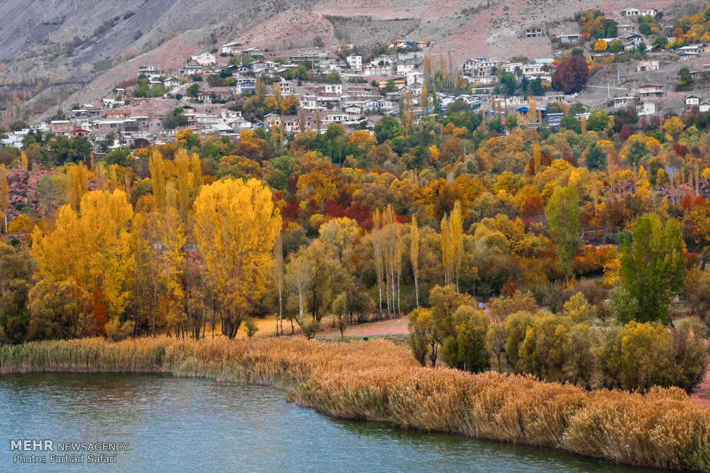 beauty of autumn in iran�s qazvin province