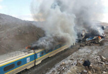Train Crash in Iran