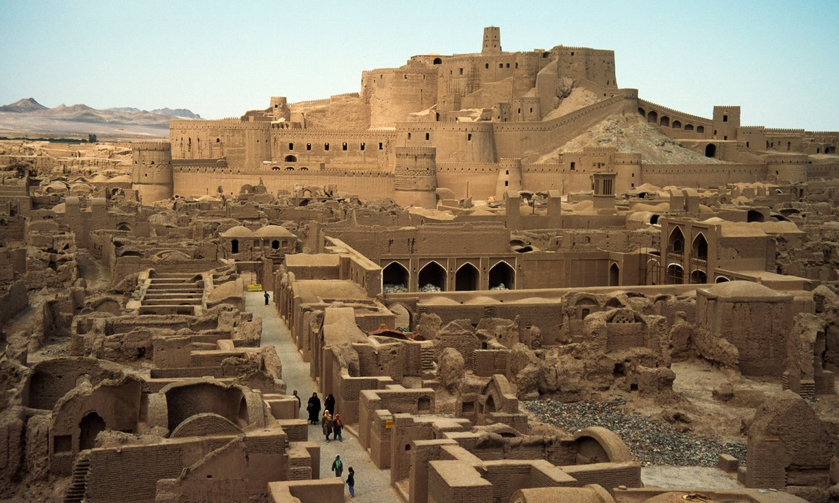 The Arg-e Bam citadel. Photograph: Earl and Nazima Kowall/Getty Images