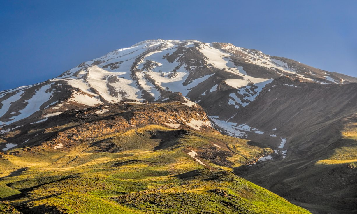 Mount Damavand. Photograph: Alamy