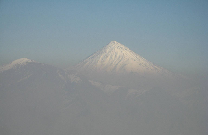 Mount Damavand- Air Pollution
