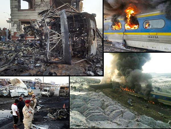 Train Crash in Iran