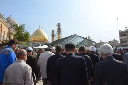 الزوار الايرانيون يعودون الى سامراء