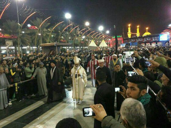 chiristians-in-arbaeen-iraq