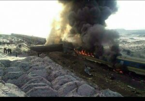 Iran Train Crash